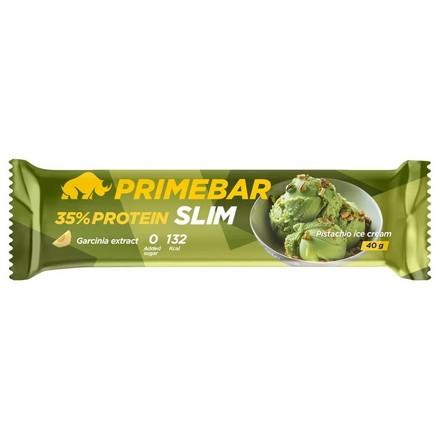 Primebar, Протеиновый батончик Slim «Фисташковое мороженое» с экстрактом гарцинии, 40 г