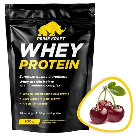 Prime Kraft, Сывороточный протеин «Дикая вишня», 900 г
