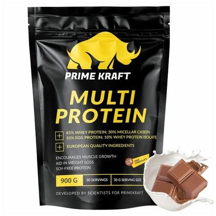 Prime Kraft, Мультипротеин «Молочный шоколад», 900 г