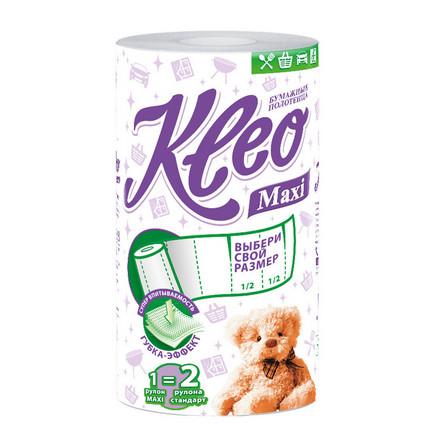 Kleo, Полотенца бумажные Maxi, 2 слоя, 1 рулон