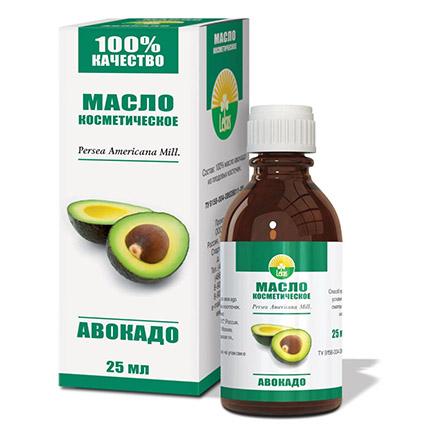 Радуга ароматов, Косметическое масло «Авокадо», 25 мл