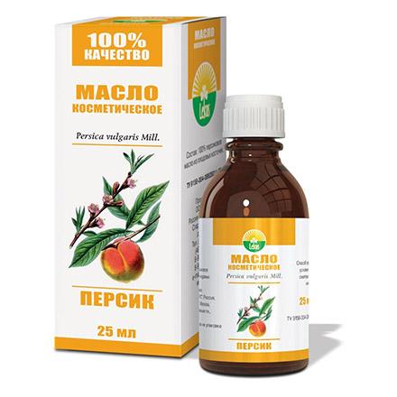 Радуга ароматов, Косметическое масло «Персик», 25 мл