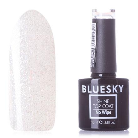 Bluesky, Топ Luxury Silver Glitter №001, 10 мл