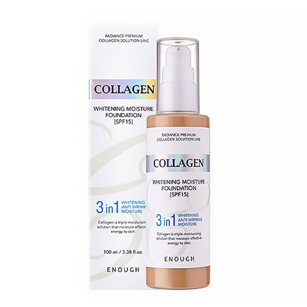Enough, Тональный крем Collagen Whitening №13, SPF 15, 100 мл