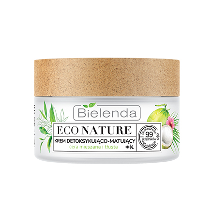 Bielenda, Крем-детокс для лица Eco Nature, 50 мл