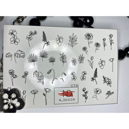 N-DESIGN, Слайдер-дизайн G-336, Plants