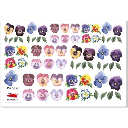 N-DESIGN, Слайдер-дизайн WC-14, Violets