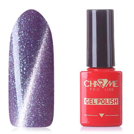 Гель-лак CHARME Pro Line Diamond Cat's Eye, Purple