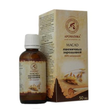 Ароматика, Растительное масло пшеничных зародышей, 50 мл