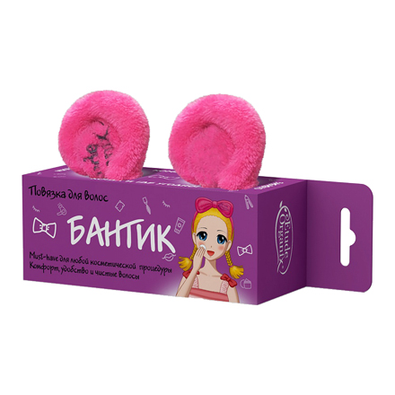 Etude Organix, Повязка для волос «Бантик»