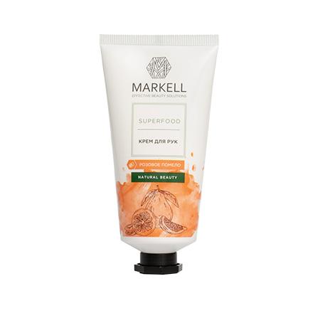 Markell, Крем для рук Superfood, розовое помело, 50 мл