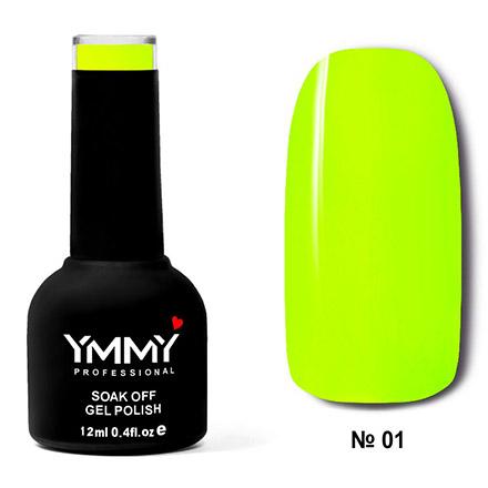 Гель-лак YMMY Professional «Люминесцентный» №01