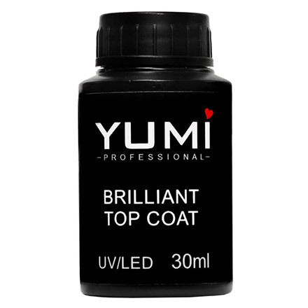 YMMY Professional, Топ для гель-лака Brilliant, 30 мл