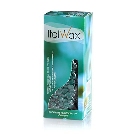 Italwax, Воск горячий (пленочный) Азулен, гранулы, 250 г