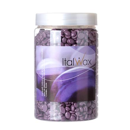 Italwax, Воск горячий (пленочный) Слива, гранулы, 500 г