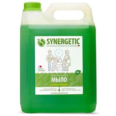 Synergetic, Жидкое мыло «Луговые травы», 5 л