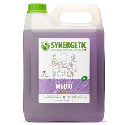 Synergetic, Жидкое мыло «Лавандовое поле», 5 л