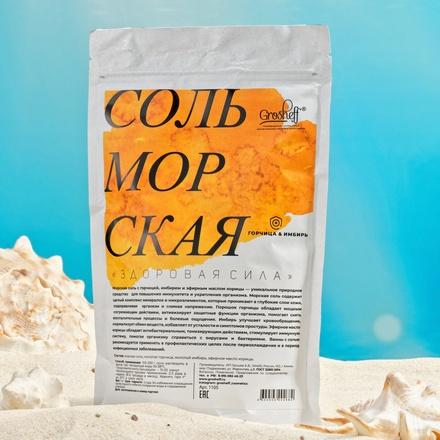 Grosheff, Морская соль «Здоровая сила», 1 кг