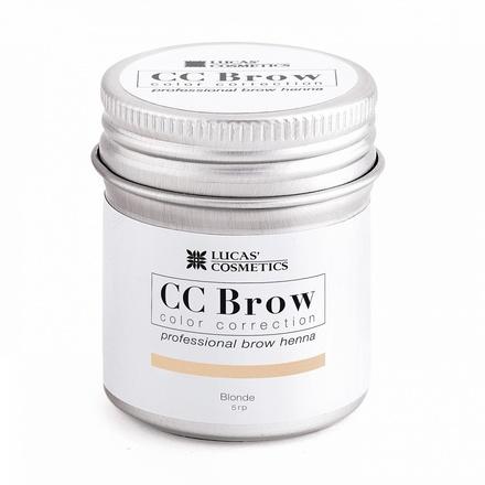 Lucas' Cosmetics, Хна для бровей CC Brow, русый цвет, в баночке, 5 г (УЦЕНКА)