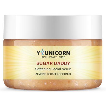 Younicorn, Гель-эксфолиант для лица Sugar Daddy, 100 мл