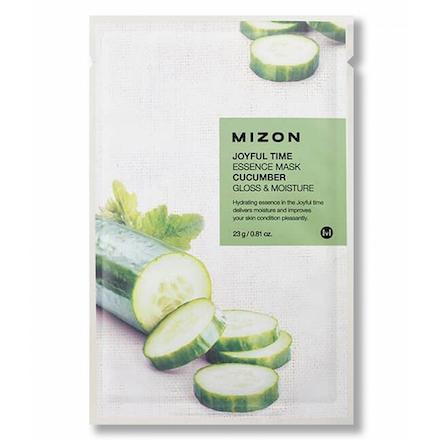 Mizon, Маска для лица Cucumber, 23 г