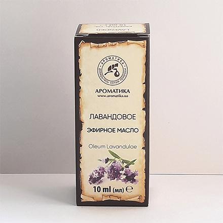 Ароматика, Эфирное масло лавандовое, 10 мл