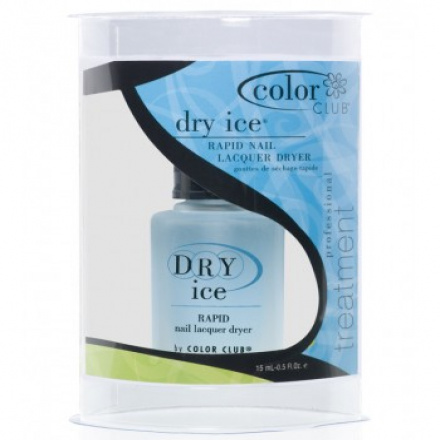 Color Club, Treatment Dry Ice Drops (топ, быстрая сушка) 15 ml