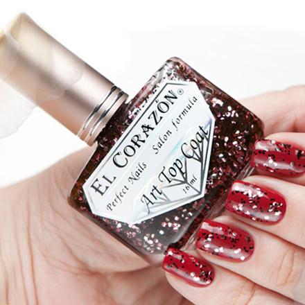 El Corazon, Топ, Art Top Coat, Pomegranate Grains № 421/19