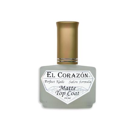 El Corazon, Топ, Matte Top Coat, Топ, 16 мл
