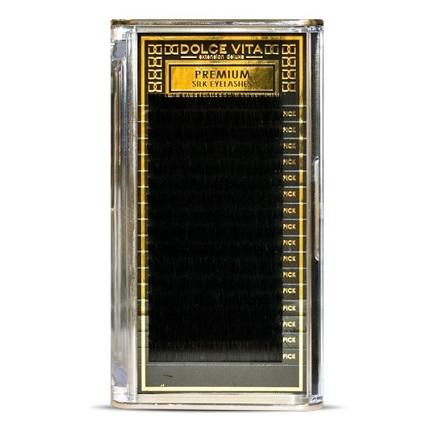 Dolce Vita, Ресницы в ленте DV premium Silk Deluxe 0.2/12 B натуральный изгиб