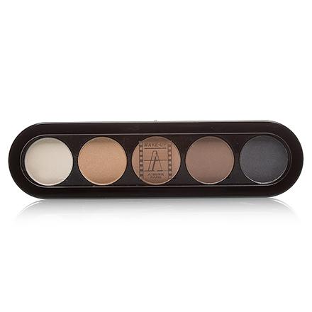 Make-Up Atelier, Palette Eyeshadows Т01S Натуральные Цвета 10 гр