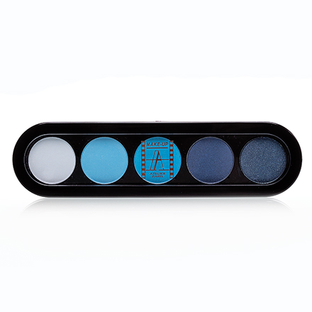 Make-Up Atelier, Palette Eyeshadows Т07 Сине-Голубые Тона 10 гр