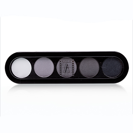 Make-Up Atelier, Palette Eyeshadows Т12 Черно-Белые Тона 10 гр