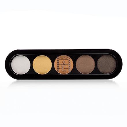 Make-Up Atelier, Palette Eyeshadows Т14 Золотисто-Оранжевые Тона 10 гр