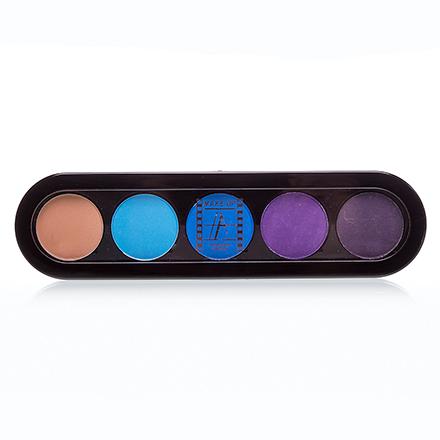 Make-Up Atelier, Palette Eyeshadows Т21 Тропические Тона 10 гр