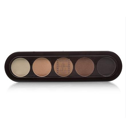 Make-Up Atelier, Palette Eyeshadows Т03S Натуральные Коричневые Тона 10 гр