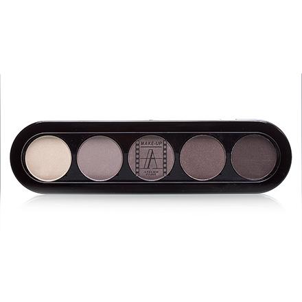 Make-Up Atelier, Palette Eyeshadows Т24 Серо-Бежевые Перламутровые Тона 10 гр