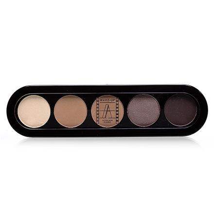 Make-Up Atelier, Palette Eyeshadows Т26 Дымчато-Коричневые Тона 10 гр