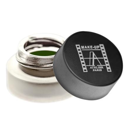 Make-Up Atelier, Eyeliners Gels, цвет Золотой Зеленый 4 г