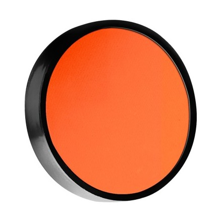 Make-Up Atelier, Акварель компактная восковая №18 Мерцающе-Оранжевый 6 г