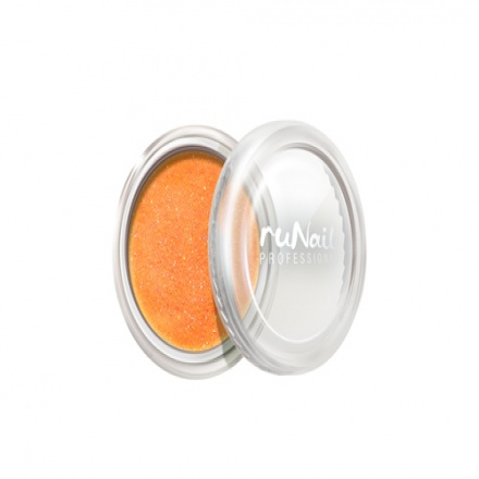 ruNail, дизайн для ногтей: пыль (оранжевый)