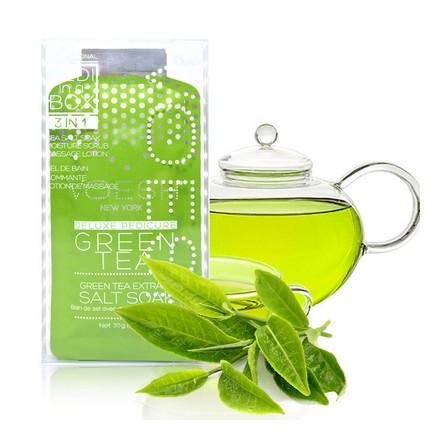 Voesh, набор для педикюра Basic 3 в 1 Green tea