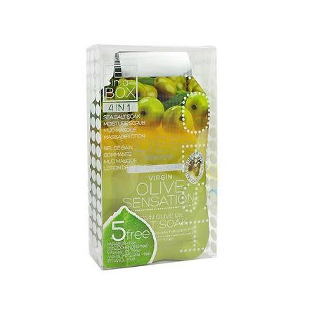Voesh, набор для педикюра Deluxe 4 в 1 Olive Sensation
