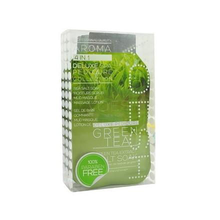 Voesh, набор для педикюра Deluxe 4 в 1 Green Tea