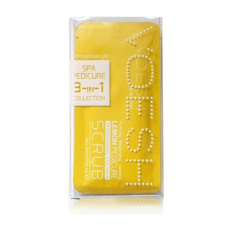 Voesh, набор для педикюра Waterless 3 в 1 Lemon