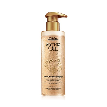L'oreal, Mythic Oil Souffle D`Or Sparkling Conditioner, Смываемый уход, 150 мл