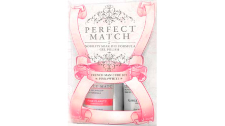 Набор French Manicur Set Pink&White от Le Chat Perfect Match