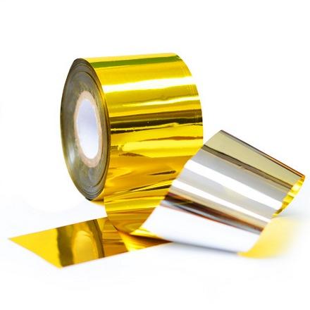 Patrisa nail, Фольга «Битое стекло», Золото - Серебро фольга для маникюра фикс прайс