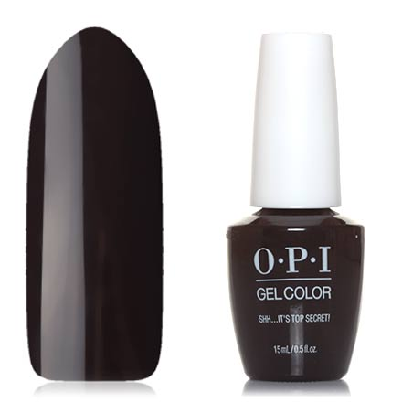 OPI GelColor, Гель-лак Shh… It's Top Secret! opi gelcolor гель лак i sea you wear opi gca73
