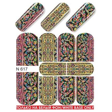 Milv, Слайдер-дизайн N617Слайдер-дизайн<br>Слайдер для создания дизайна на ногтях.